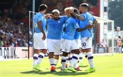 Man City thắng dễ Bournemouth 3-1