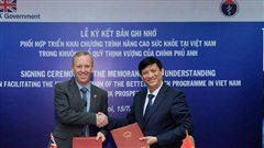 Đại sứ Anh cảm ơn Việt Nam hỗ trợ ứng phó đại dịch Covid-19