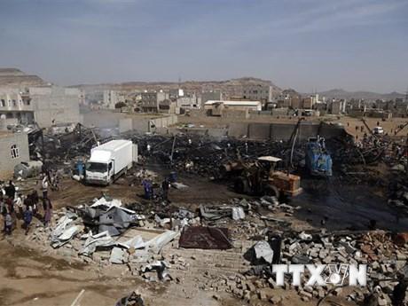 Tiếp tục xảy ra không kích tại Bắc Yemen, ít nhất 7 người tử vong