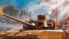 T-14 Armata phối hợp Su-57 hạ gục xe tăng Israel