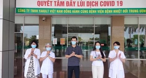 Thêm 3 bệnh nhân COVID-19 khỏi bệnh