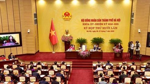 Công bố 11 nghị quyết của HĐND thành phố Hà Nội