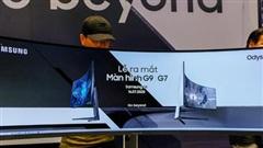 Samsung ra mắt màn hình gaming cong Odyssey G7 và G9 tại Việt Nam
