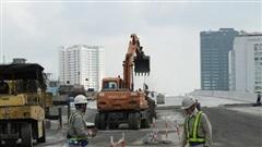 Cầu cạn đoạn Mai Dịch – Nam Thăng Long sẽ thông xe ngày 10/10