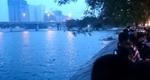 Nam thanh niên tử vong trên hồ Linh Đàm