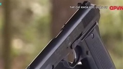 K-14: Mẫu súng ngắn do Việt Nam chế tạo có gì đặc biệt?