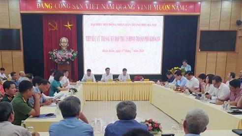 Chủ tịch UBND thành phố Nguyễn Đức Chungtiếp xúc cử tri quận Hoàn Kiếm