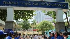 Thi môn Ngữ văn vào 10 tại Hà Nội: 3 thí sinh vi phạm quy chế