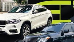 Cùng tầm giá 2,5 tỷ đồng, chọn BMW X6 2016 'siêu lướt' hay liều chọn 'ông hoàng giữ giá' Lexus LX570 10 năm tuổi
