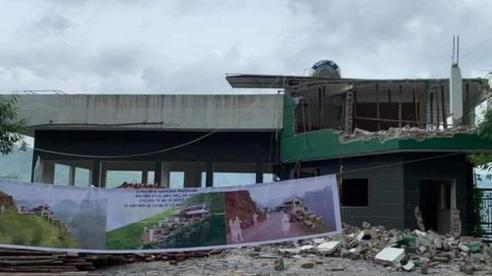 Nóng: Phá dỡ, cải tạo tòa nhà trái phép Mã Pì Lèng Panorama