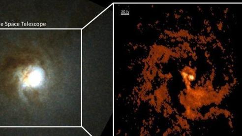 Phát hiện thiên hà ma quái mang 'trái tim kho báu' 550.000 Mặt Trời