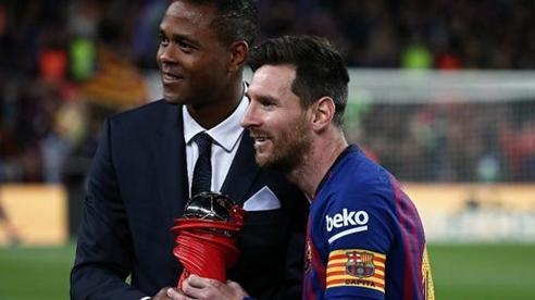 Cầu thủ Barca muốn Patrick Kluivert lên thay HLV Setien