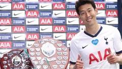 Ngôi sao Hàn Quốc Son Heung-min 'ẵm' trọn giải thưởng của Tottenham.