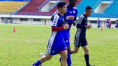 Công Phượng, Bùi Tiến Dũng rèn thể lực đấu Hà Nội FC