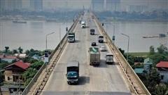 Chậm nhất ngày 9-8 sẽ khởi công dự án sửa chữa mặt cầu Thăng Long