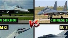 Biên giới Trung-Ấn: Lo Su-30MKI đối đầu với Su-30MKK
