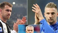 Mourinho đánh lớn, Tottenham đón Ramsey và Skriniar