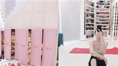 Sao Việt bao lần khiến fan mắt chữ O miệng chữ A vì tủ đồ hàng hiệu đắt giá như penthouse xa xỉ