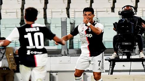 Ronaldo lập cú đúp, Juventus chiến thắng 2-1 trước Lazio