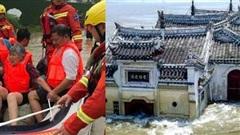 Hình ảnh lũ lụt tồi tệ tại Trung Quốc: Di sản bị nhấn chìm, đập lớn nhất thế giới đứng trước nguy cơ vượt giới hạn