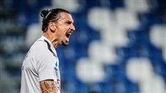 Ibrahimovic lập cú đúp, AC Milan vào top 5