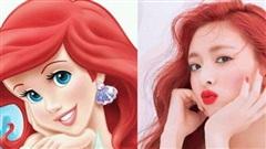 Những ngôi sao Kpop có đường nét y chang… nhân vật Disney
