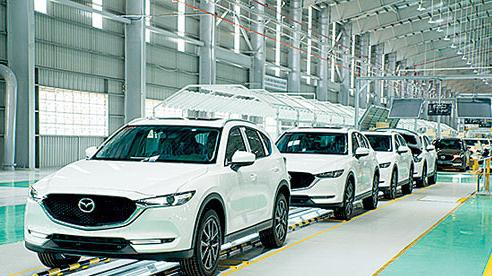 Sản xuất, lắp ráp ô tô trong nước đạt 88,1 nghìn chiếc, giảm sâu so với cùng kỳ