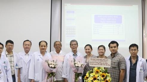 Sức khoẻ của bệnh nhân ghép gan trong mùa dịch COVID-19 đã ổn định