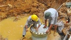 Tạm ngừng cấp nước sạch khu vực Tây Nam Hà Nội để khắc phục sự cố