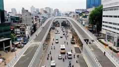 Công trình giao thông trọng điểm trên địa bàn Hà Nội: Chạy đua 'về đích'