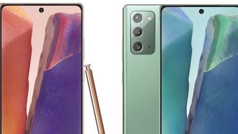 Galaxy Note 20 lộ diện màu sắc cực bắt mắt