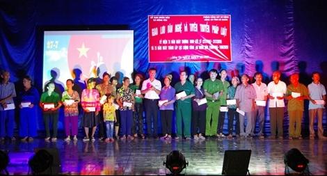 Công an Hà Giang tổ chức nhiều hoạt động ý nghĩa thăm hỏi, tặng quà các gia đình chính sách