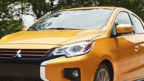 Mãi không về Việt Nam, Mitsubishi Mirage tiếp tục thay đổi để giống Outlander hơn