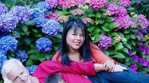 Sắc màu phương Đông trong khu vườn 1400m² của mẹ Việt ở Mỹ