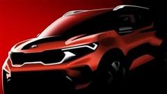 Kia Sonet - Đàn em Seltos ấn định ngày ra mắt, cạnh tranh Hyundai Venue