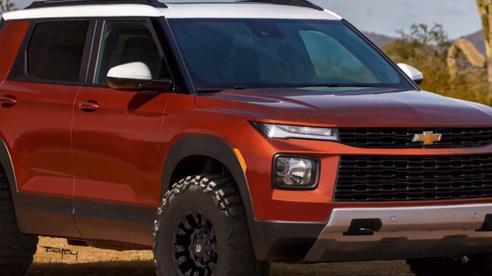 Sẽ ra sao nếu Chevrolet Trailblazer biến thành SUV off-road đối đầu Ford Bronco?