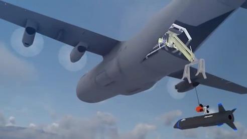 Mỹ thử nghiệm 'hàng không mẫu hạm' trên không