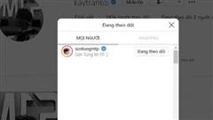 Có 134 nghìn người theo dõi trên Instagram nhưng Kay Trần chỉ follow mình Sơn Tùng: Nếu là người khác thì hẳn đã đồn 'yêu nhau'