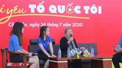 Chặng thứ ba Hành trình ''Tôi yêu Tổ quốc tôi'' diễn ra tại Côn Đảo
