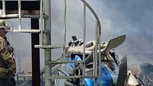 May bay đâm thẳng vào nhà dân khiến 3 người thiệt mạng