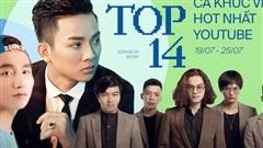 Sơn Tùng 'nhường ngôi' cho Hoài Lâm, Binz tụt hạng trong khi Lynk Lee trụ vững top ca khúc view khủng nhất Youtube tuần qua!