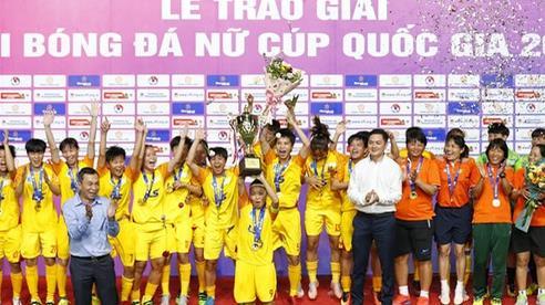 Sở hữu dàn 'sao' tài năng, CLB TP HCM lần đầu đăng quang giải nữ Cúp quốc gia