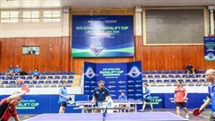 Khởi tranh Giải Bóng bàn tranh Cúp GamaLift lần thứ I, sân chơi sôi động cho những tay vợt nghiệp dư