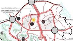 Soi quy hoạch hệ thống giao thông 'khủng' tại đô thị vệ tinh lớn nhất Thủ đô