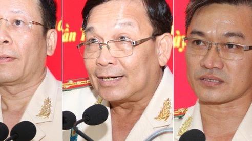 Công an Cần Thơ lần đầu tiên có 3 tân phó giám đốc được điều động, bổ nhiệm