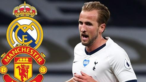 MU và Real Madrid quyết đấu giành Harry Kane