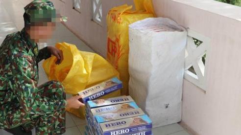 Bắt giữ 1.400 gói thuốc lá lậu trị giá hơn 20 triệu đồng
