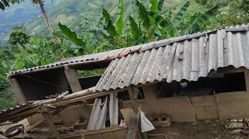Những hình ảnh và con số thiệt hại sau trận động đất ở Sơn La trưa nay