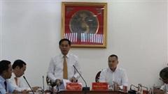 Thứ trưởng Thường trực Bộ Ngoại giao Bùi Thanh Sơn thăm và làm việc tại tỉnh Phú Yên