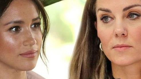 Tiết lộ sự thật gây sốc về mối quan hệ chị em dâu của Meghan Markle với Công nương Kate thời sống chung
